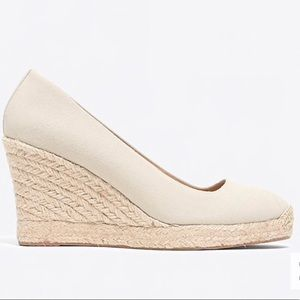 J.crew Seville Espadrille Wedge Shoes
